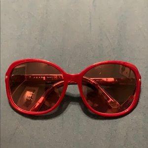 PRADA eggplant color sunglasses SDR04N-A